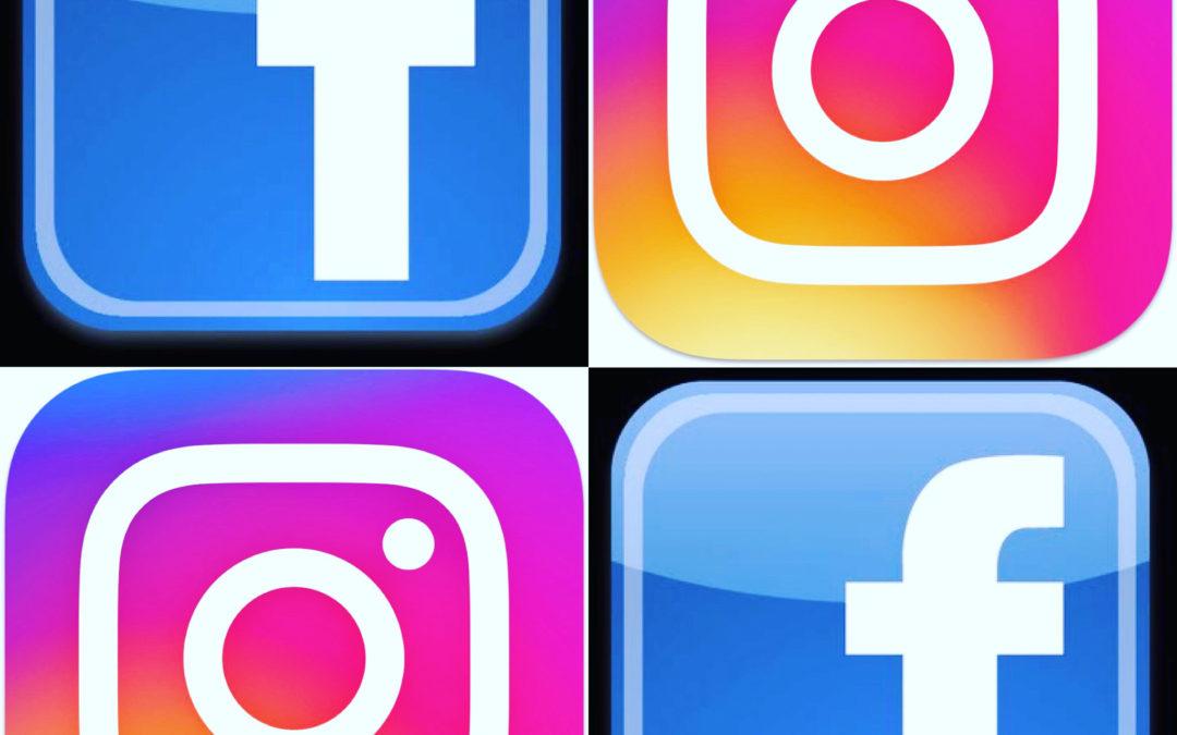 Réseaux Sociaux Facebook Instagram